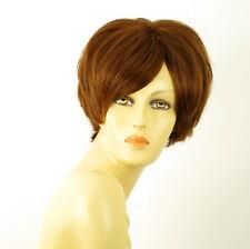 wig for women 100% natural hair blond copper AMANDINE 30 PERUK