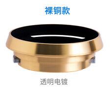 Leica Gold Metal Hood E39 LM Lens Summicron M35/2 M50/2 Summaron M35/2.8