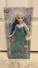 "BRAND NEW Disney Store Exclusive Frozen Elsa Classic 12"" Doll - Hard to Find"