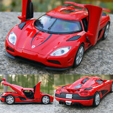 Koenigsegg Agera R Model Cars 1:32 Alloy Diecast 2 doors can bounce off Instock