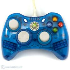 Xbox 360 - Wired Controller Rock Candy Mod #Clear-Blue