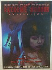 Asian Cult Cinema: Extreme Horror Collection (4-Disc DVD Box Set) FACTORY SEALED