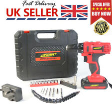 21v Cordless Combi Drill Set 1500mAh Lithium Ion 2-Speed Electric Screwdriver