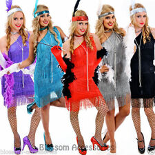 Polyester Flapper Dress Costumes for Women