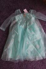 H&M Eiskönigin Frozen Kostüm Kleid Elsa Fasching Karnaval  Gr. 122 128 Neu