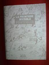 SCHUITEN PORTFOLIO CANAL BD LA FRONTIERE INVISIBLE COMME NEUF