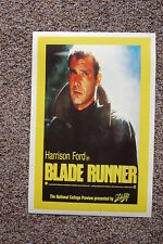Blade Runner Lobby Card Movie Poster #3 Harrison Ford Yellow