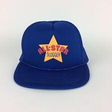 Todos los Star Slugger Malla de béisbol Trucker Gorra Sombrero Azul Rojo  Amarillo Deportes All- ec6e342bfe3
