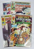 Marvel's Team-Up Spider-Man, Alpha Flight, Ghost Rider, Captain America Lot of 4