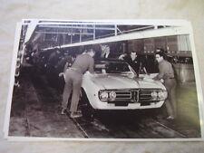 1967 PONTIAC FIREBIRD ASSEMBLY LINE  BIG  11 X 17  PHOTO  PICTURE