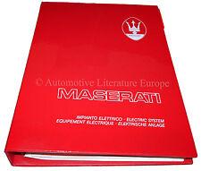 1997 MASERATI QUATTROPORTE V6 V8 ELECTRISCHE ANLAGE HANDUCH ELECTRIC SYSTEM