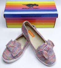 64fc31abd NEW Rocket Dog POPPER BTK Slip On Shoes Girls Flats Red Blue Multicolor Kids  2M