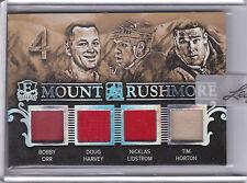 2016 ITG ENSHRINED MOUNT RUSHMORE JERSEY ORR HARVEY LIDSTROM HORTON 1/1