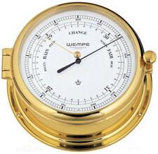 Barometer Admiral II Messing von Wempe, Bootsbarometer, Schiffsbarometer, Yacht