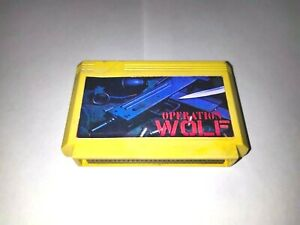 Operation Wolf for Dendy Famicom Pegasus Famiclone 60 Pin NES
