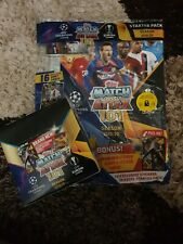 Match Attax Uefa Champions League 2019/20 Full Display Box With starter pack