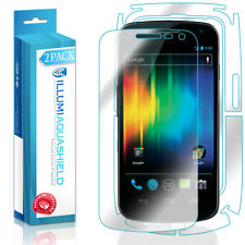 2x iLLumi AquaShield Front Screen + Back Protector for Samsung Galaxy Nexus