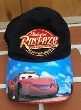 Walt Disney World Cars Lightning McQueen 95 Rust-Eze Adjustable Hat Youth Size