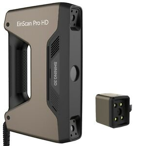 Open Box - EinScan Pro HD Handheld 3D Scanner + Color Pack HD w/ SolidEdge CAD