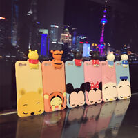 3D Cute Cartoon Animals TPU Silicone Soft Case Cover For iPhone 6 6s 7 Plus New