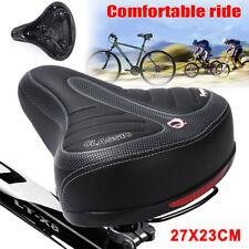 Big Wide Bum Saddle Seat Bike Bicycle Gel Cruiser Extra Soft Comfort Sporty Pad