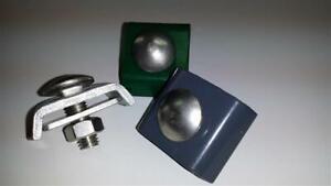 Eckverbinder Zaunverbinder 20 tlg.Set 5 Stck klein für Doppelstabmattenzaun Zaun