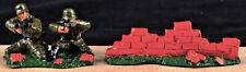 Bastion Models - Waffen SS Machine Gun Arnhem,1944 - gloss metal 54mm - mib 1992
