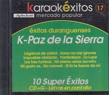 K Paz De La Sierra 10 Super Exitos Karaoke Nuevo Sealed
