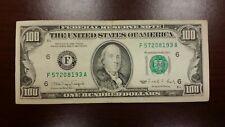 Series 1990 US One Hundred Dollar Bill $100 ** Atlanta ** F57208193A