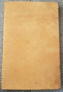 Gästebuch 1921-2004 Historiker Rudolf Lehmann Marburg Senftenberg 189 Seiten!