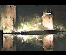 ELVEN (56) TOURS de FORTERESSE de LARGOET illuminées