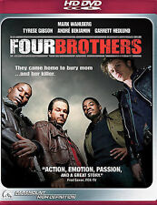 Four Brothers (HD DVD, 2006) Mark Wahlberg - New Andre 3000 Benjamin Outkast