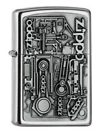 ZIPPO Feuerzeug - Motor Parts Emblem - Auto Tuning - Neuheit 2020 - 2006539