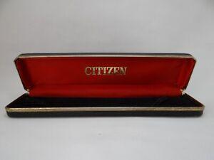 Citizen Watch Box  Vintage 1970's