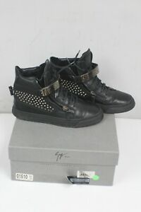 Giuseppe Zanotti mens spiked sneakers Pre-Owned Size 40 / US 7