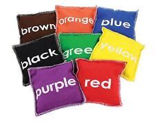 Colour Toss Bean Bags Set of 8 Maths Teaching Resource Gross Motor Skills Kids