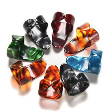 1x Finger Thumb Guitar Pick Guitar Plectrum Celluloid Guitar Part Accessory WB