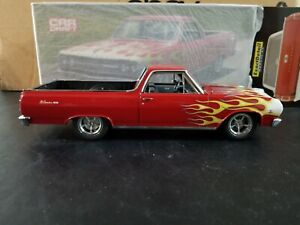Exact Detail 1:18 Car Craft Flamed 1965 Chevy El Camino. NOS BUT PLEASE READ!