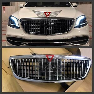 Mercedes Benz grill Maybach style S500 S600 S63 W222 S55 S560 2014 S class S63