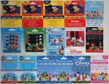 23 Disney Gift Cards: Mickey, Minnie, Goofy, Pluto, Donald, Daisy, Toy Story ++