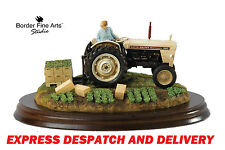 New Border Fine Arts Farming David Brown Tractor Model Summer Crop Mint &  Boxed