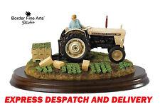 New Border Fine Arts Farming David Brown Tractor Model Summer Crop Mint &  Boxed