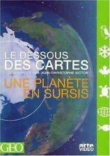 21855 // LE DESSOUS DES CARTES UNE PLANETE EN SURSIS DVD NEUF
