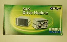 "NEW Enlight DM001219 3-in-2 3.5"" SAS SATA Hot Swap Cage Enclosure High Quality"