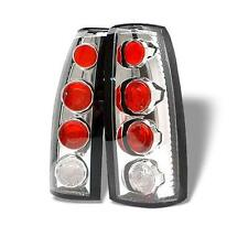 Tail Lights Chevy Cadillac GMC Various Models 1988-2000 Altezza - Chrome