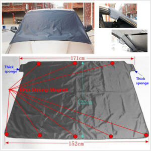 Polyester Car Windshield Cover Sun Snow Ice Frost Freeze Dust Protector