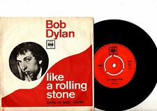 BOB DYLAN 7'' PS Like A Rolling Stone Denmark VERY RARE UNIQUE COVER Danish 45