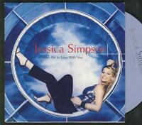 JESSICA SIMPSON I Think i'm In Love With You 2 tr CARDslv CD SINGLE