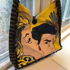 Lichtenstein Comics Tote Bag by Starr Hagenbring
