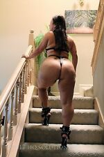 Risque Nude Latina MILF in Fetish harness and Stiletto Heels CD-ROM 20 pics